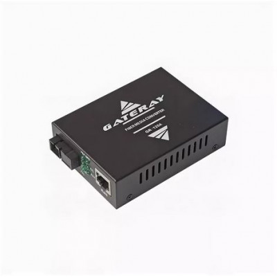 Медиаконвертер Gateray GR-120A WDM, 10/100Base-TX/100Base-FX, TX 1310нм /RX 1550нм, SC, 20км, LFP