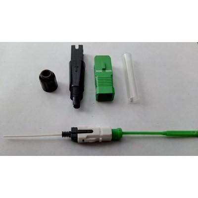 Коннектор SC/APC Splice-On simplex SM, для FTTH drop 3*2мм