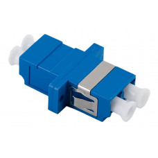 Адаптер проходной LC/UPC SM duplex