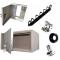 Шкафы и ящики антивандальные