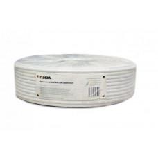 Кабель коаксиальный LIGHT CADENA RG-6U (75Ом, 40%) белый,100м