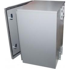 Столбовой уличный шкаф серии ВОКС 19' вертикальный (IP 54)