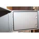 Столбовой уличный шкаф серии ВОКС 19' горизонтальный (IP 54)