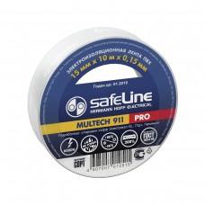Изолента Safeline 15мм*10м белая