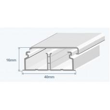 Кабель-канал 40х16 мм(перегородка) Efapel