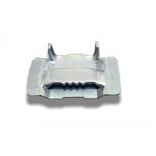 Скрепа для монтажной ленты (с зубьями)