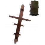 Кронштейн КПМ-02.1 для подвески кросс-муфт МКО-П1 на опору