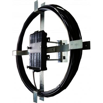 Каркас мини УПМК-02-1 для запаса ВОК и кросс-муфты с выносом от опоры 150мм