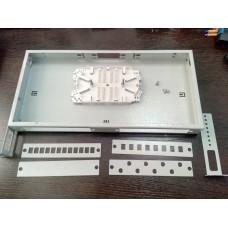 Корпус кросса оптического R1U(2) - 8-32 порта SC/FC