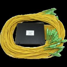 Ответвитель PLC 1х32 BOX SC/APC, 1-1,5 m, 2,0-3.0mm, SM, равномерный ,1260-1650 nm