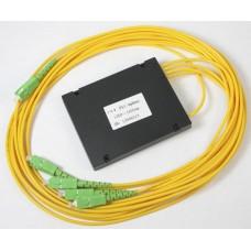 Ответвитель корпусной PLC 1х4 SC/APC равномерный