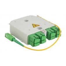 Сплиттер1х8 - Модуль ССД М3-8SC-1PLC 2,0-1/8SC/APC-8SC/APC