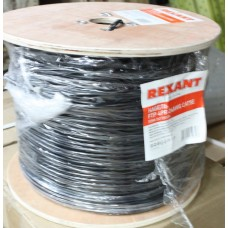 Кабель FTP 4PR 24AWG CAT5e 305m OUTDOOR REXANT