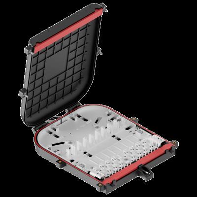 Муфта-кросс оптическая плоская ОКМ-18SC/16SC-PLC 18 портов