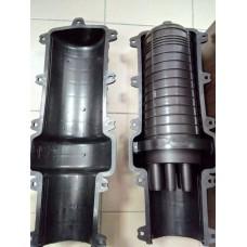 Муфта оптическая (тупиковая) МВОТ-144-1х24/1/1 GD (24ов) совместимая с МПЗ/МЧЗ