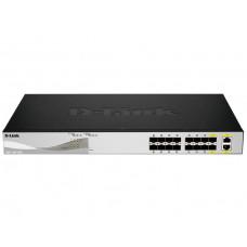Коммутатор EasySmart с 14 портами 10GBase-X SFP+ и 2 комбо-портами 10GBase-T/SFP+ DL-DXS-1100-16SC/A1A