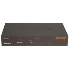Коммутатор неуправляемый  с 8 портами 10/100Base-TX с поддержкой PoE DL-DES-1008P/C1A