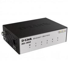Коммутатор 5 портов 10/100/1000 DL-DGS-1005D/I3A
