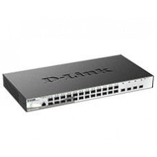 Коммутатор 24 1000MBPS SFP порта + 4 10G DL-DGS-1210-28XS/ME/B1A