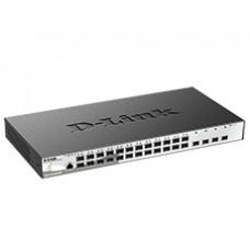 Коммутатор 24 10/100/1000MBPS  порта + 4 10G DL-DGS-1210-28X/ME/B1A