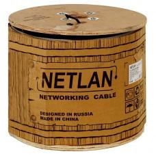 Кабель NETLAN  UTP 50 пар, Кат.5е, внутренний, PVC, одножильный, 100МГц,  305м