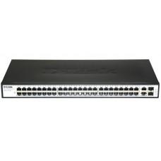 Коммутатор 48x10/100, 2xGigaUTP, 19 DL-DES-1050G/C1A