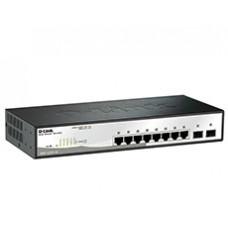 Коммутатор 2 уровня с 8 портами 10/100/1000Base-T и 2 портами 1000Base-X SFP DL-DGS-1210-10/ME/A1A